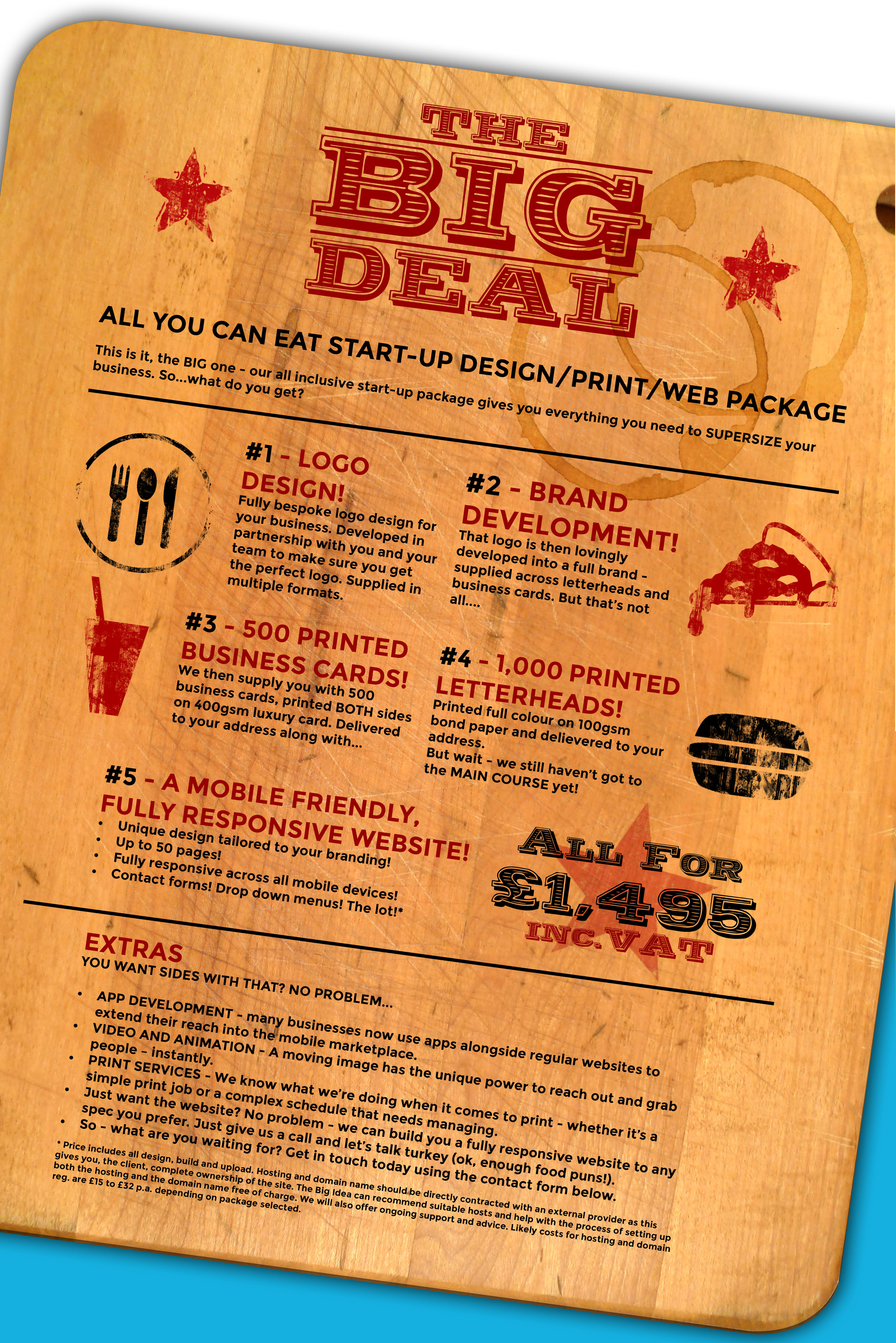 Our Big Offer deal
