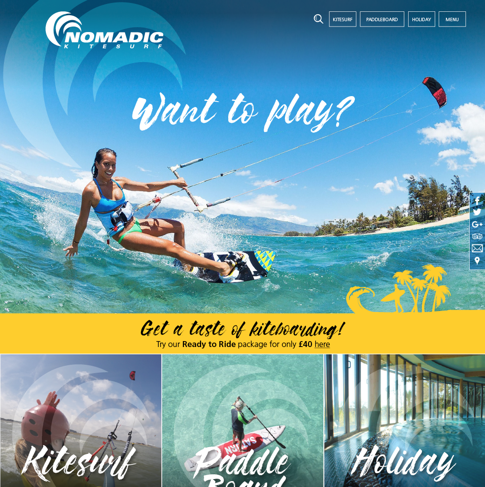 Learn to KiteSurf around the world…