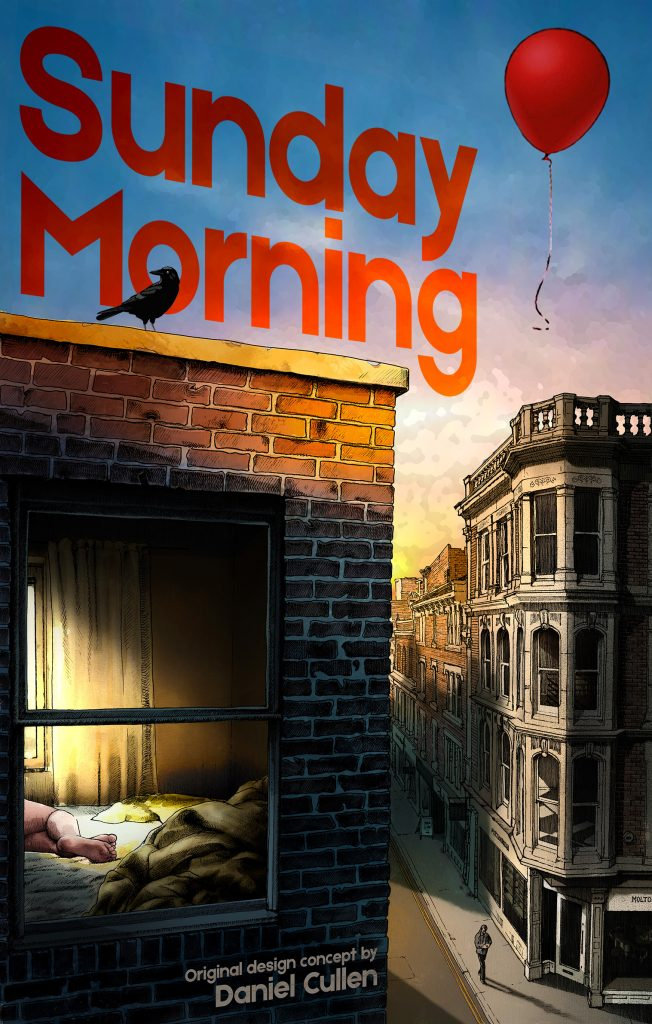 Sunday Morning - original book cover design concept
